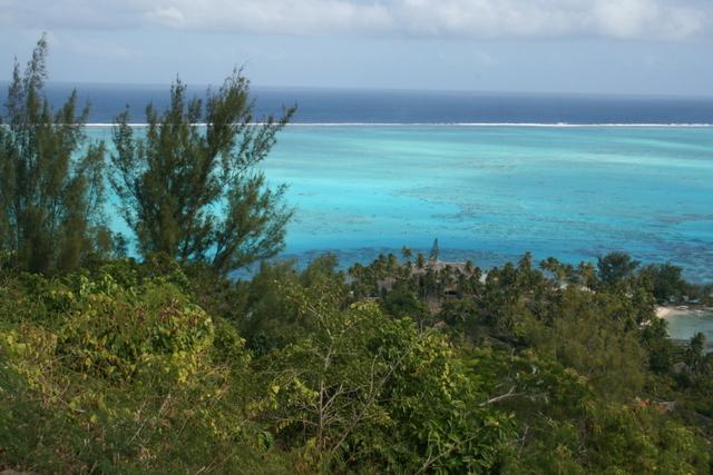 A Bora Bora, l'eau douce devient rare et aussi précieuse que son lagon