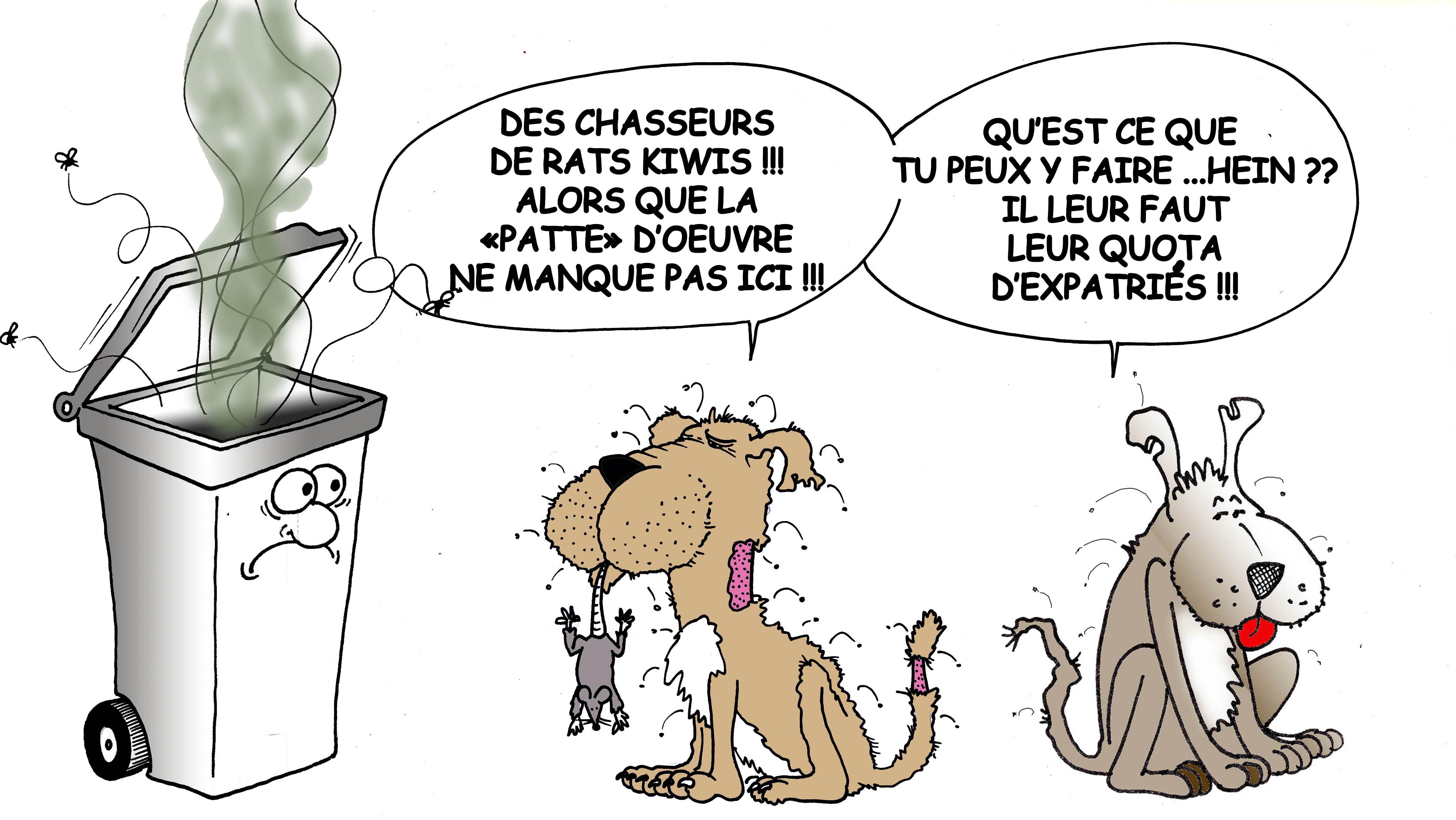 """""""Les chiens dératiseurs"""" par Munoz"""