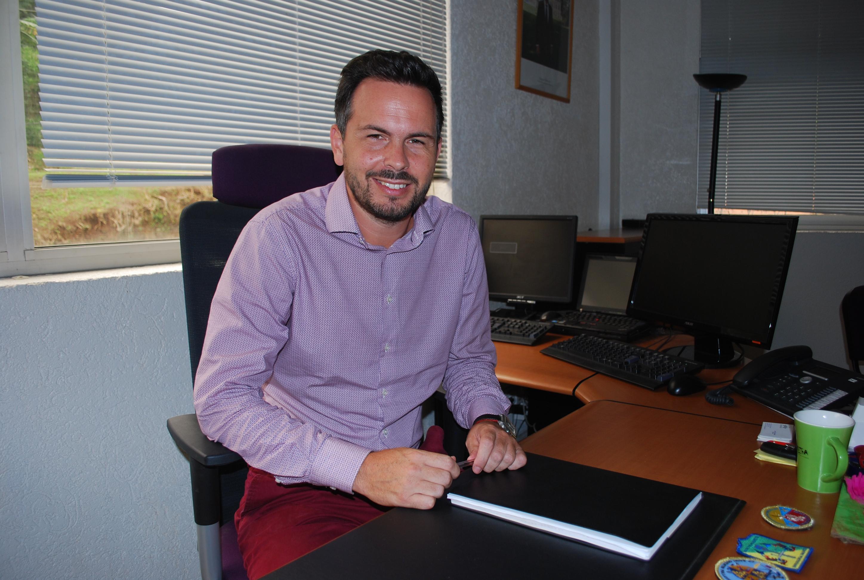 Yannick Massard, le directeur de la prison de Nuutania