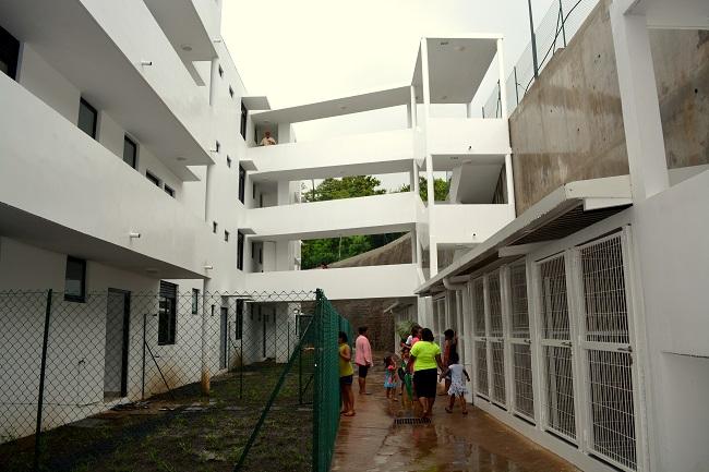 Les deux dernières résidences neuves de l'OPH sorties de terre et dont les clés ont été remises aux locataires : en septembre 2013 la résidence Tepapa 3 à Papeete et en décembre 2014 la résidence Teiviroa à Punaauia.