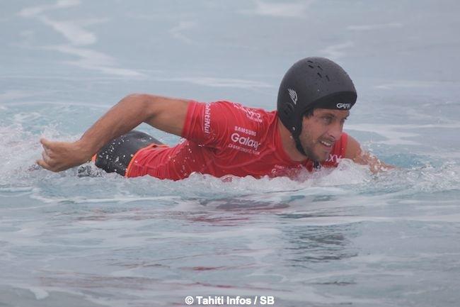 Jérémy Florès a très bien surfé mais le King reste...le King