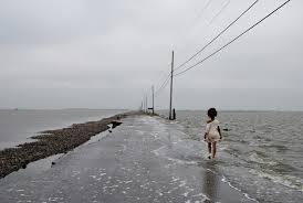 Dix ans après Katrina, une île de Louisiane disparaît, avalée par l'érosion