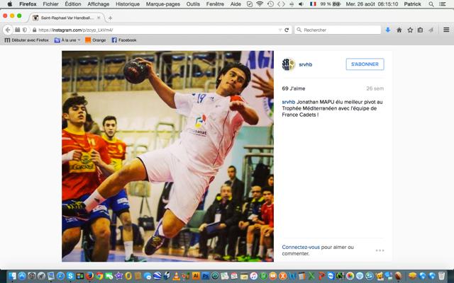 La France domine la planète Handball: Le Polynésien Jonathan Mapu distingué