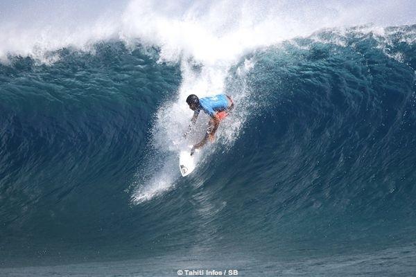 La vague de la victoire pour Jérémy Florès, notée 9.87.