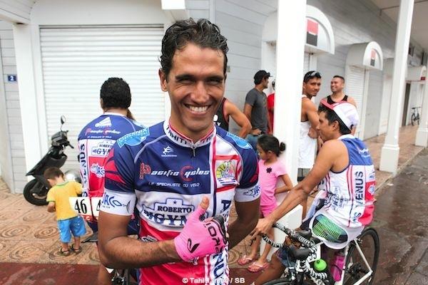 Le bilan d'Opeta Vernaudon est positif avec deux victoires d'étape