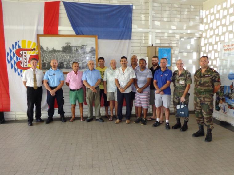 Cinquième réunion de la commission solidarité du monde combattant de Polynésie française