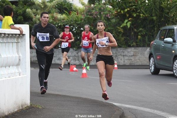 Course à Pied - Foulées de Vaimato 2015 : Focus sur Teiva Izal.