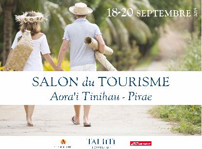 Le salon du tourisme, c'est le 18 septembre!