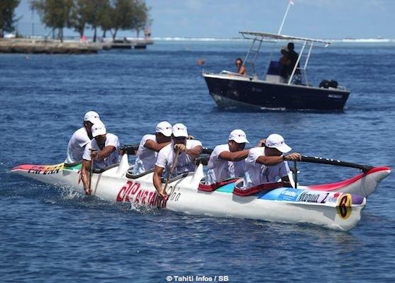 C'est Air Tahiti qui s'est imposé devant Arue Va'a et Te Niu Va'a