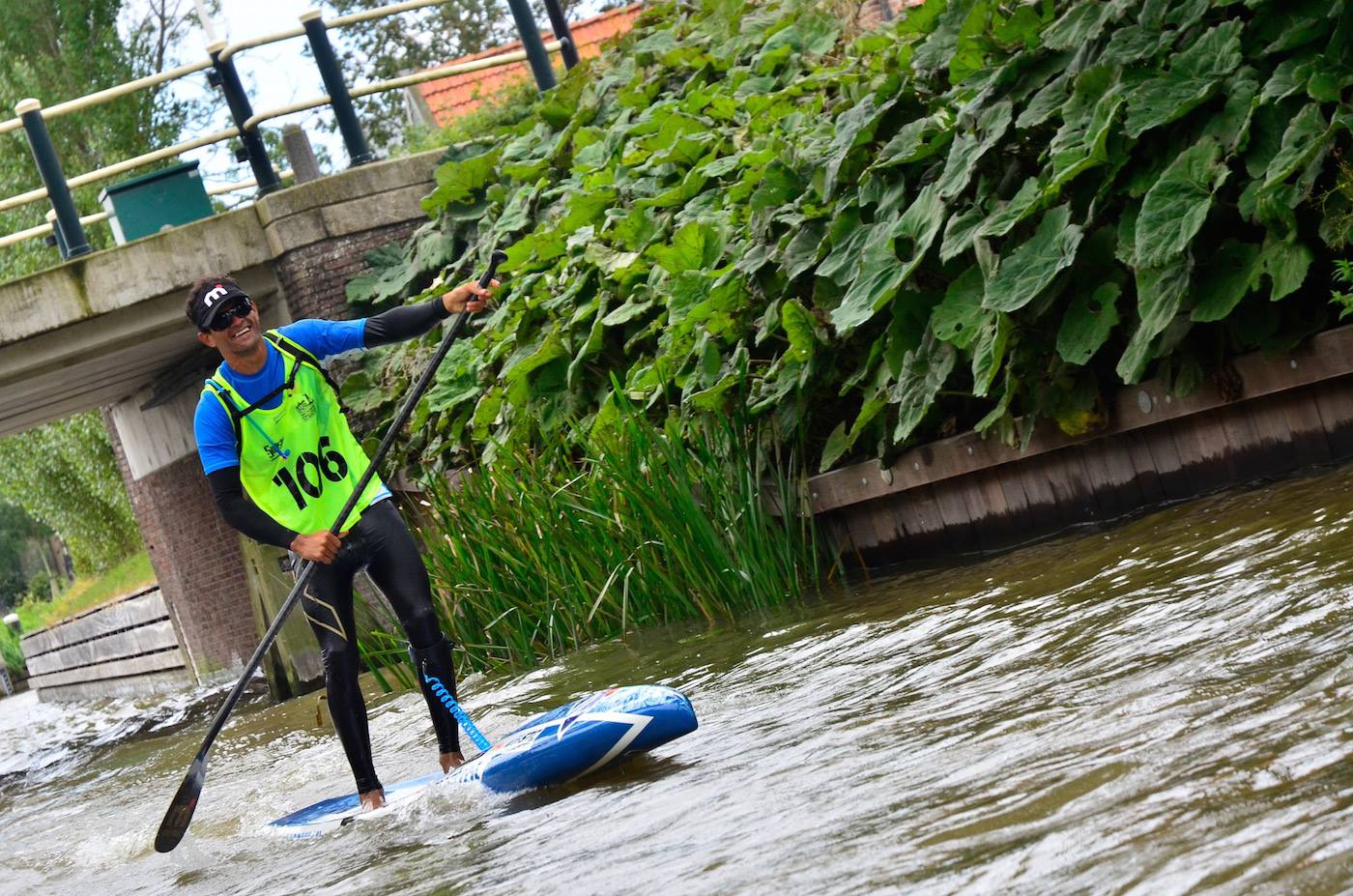 SUP 11 City Tour : Exceptionnel Steeve Teihotaata