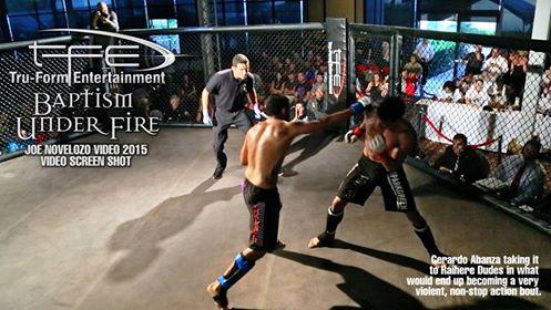 MMA – Here Dudes vs Gerardo Abazan : La vidéo d'un combat difficile mais gagné pour Tahiti.