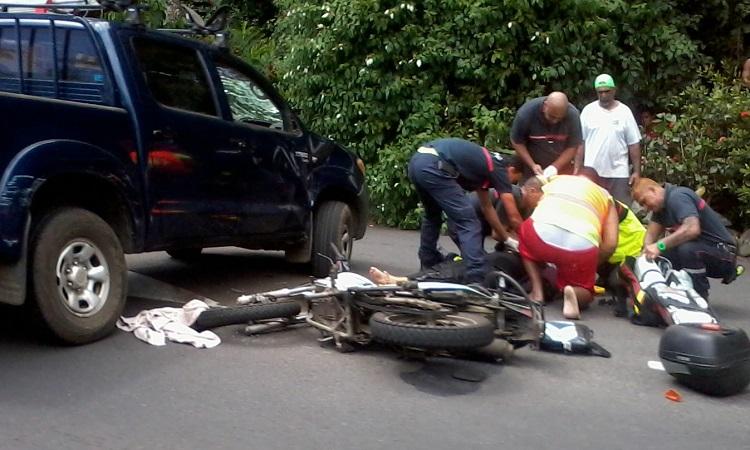 En 2014, 60% des accidents mortels en Polynésie sont dus à la consommation d'alcool et/ou des stupéfiants  85% des victimes décédées sur la route étaient des hommes  55% des victimes décédées sur la route étaient des jeunes de moins de 25 ans  70% des accidents mortels impliquaient au moins un deux-roues