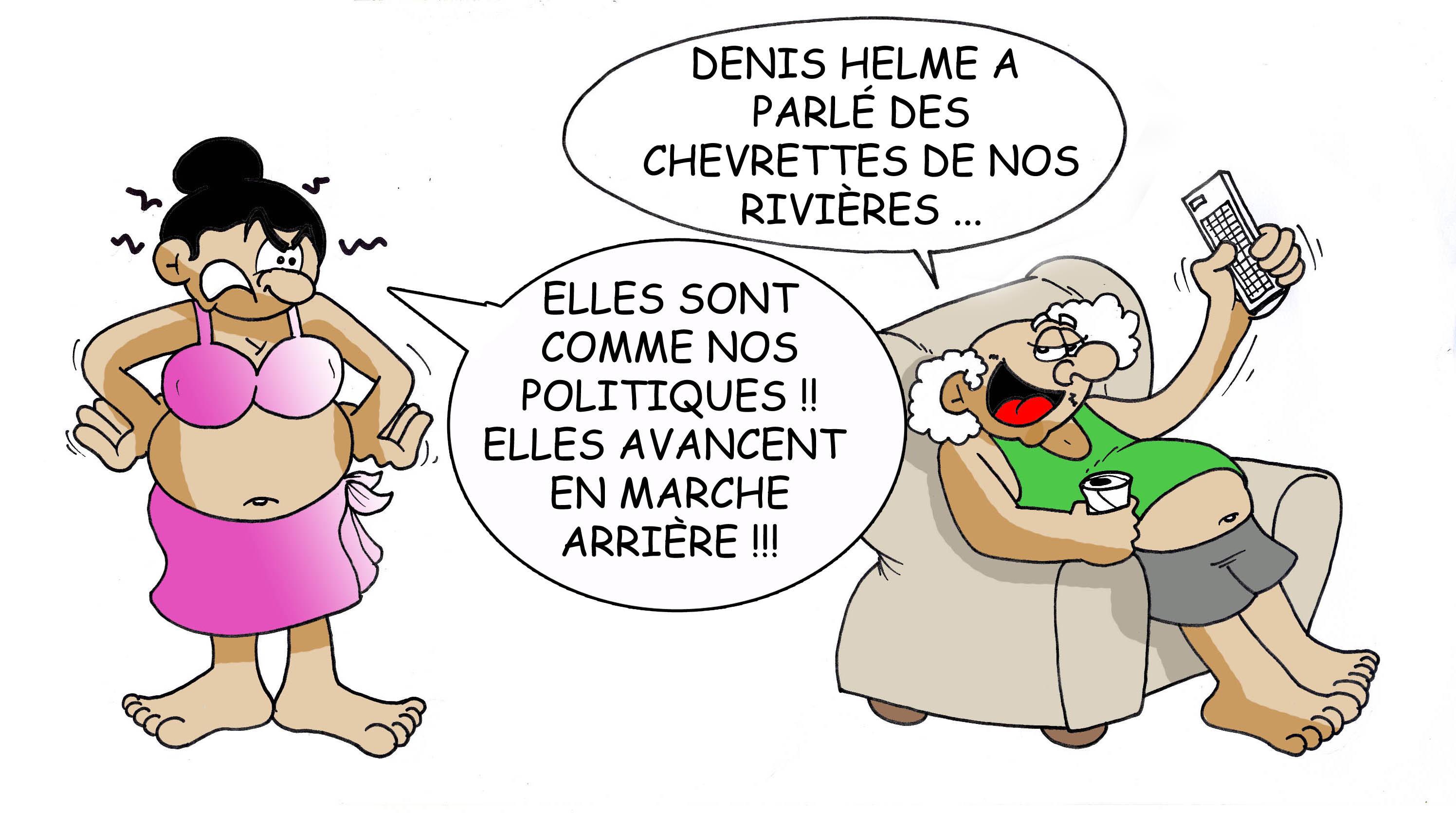 """""""Des chevrettes et des rivières"""" vu par Munoz"""