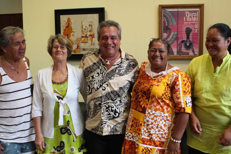 Visite de courtoisie de l'association Haururu au Ministère de la Culture