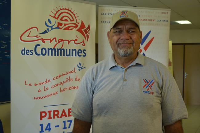 Le congrès des communes est très attendu par les tavana et les élus municipaux selon Cyril Tetuanui le président du SPC. Le dernier s'était réuni en 2013.