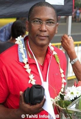 Jean-Yves Thivers du team Guyane