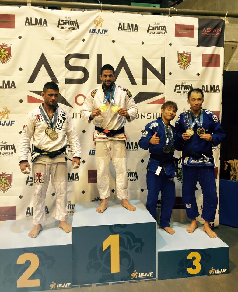 RECTIFICATIF - Dany Gérard, Champion d'Asie de jiu jitsu brésilien.