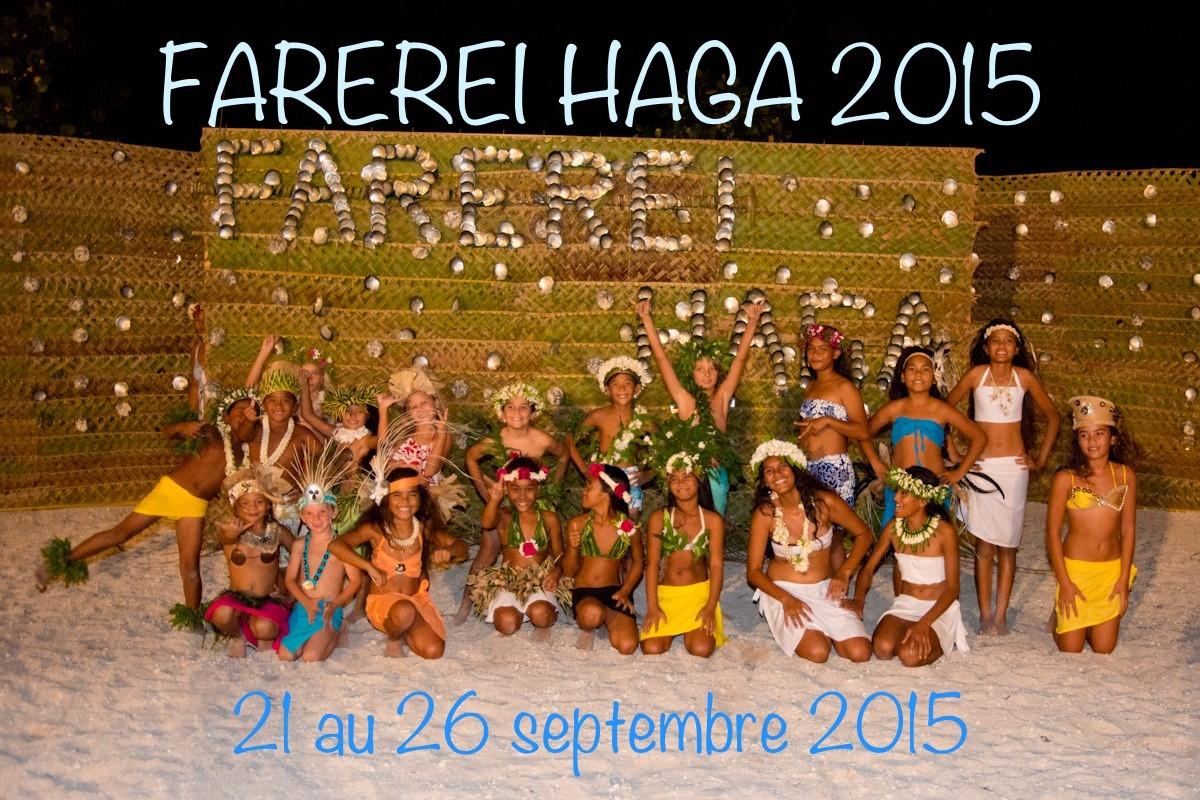 """La 5ème édition du """"Farerei Haga – La rencontre"""" se tiendra du 21 au 26 septembre."""