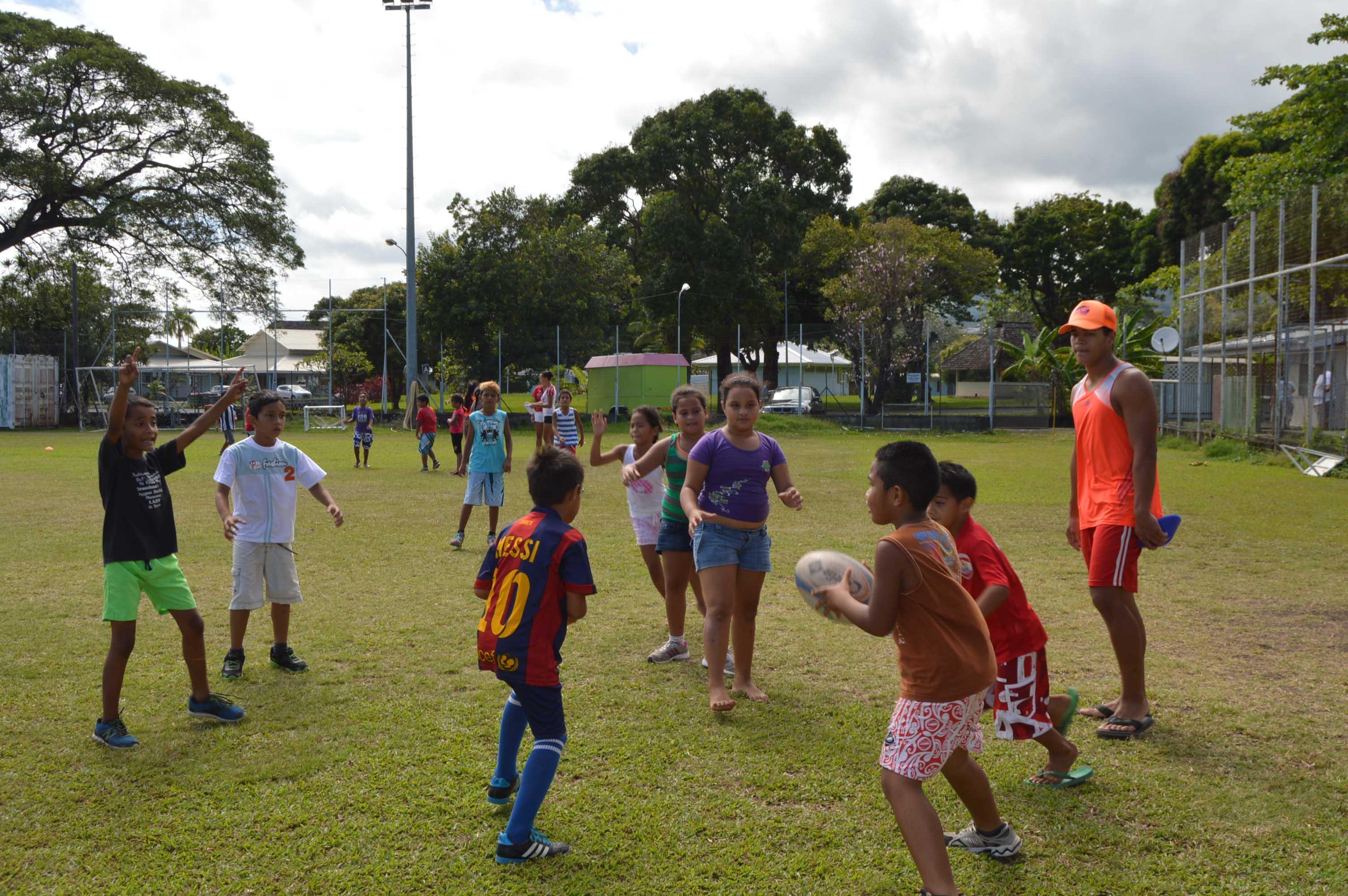 Volley-ball, futsal ou encore tir à l'arc, durant cinq jours, ces enfants issus des quartiers prioritaires profiteront pleinement de ces activités sportives.