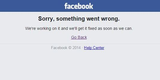 Des perturbations sur le réseau Facebook