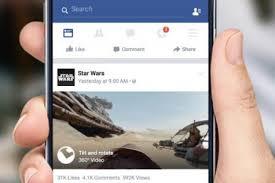 Facebook ajoute des vidéos à 360 degrés à son fil d'actualité