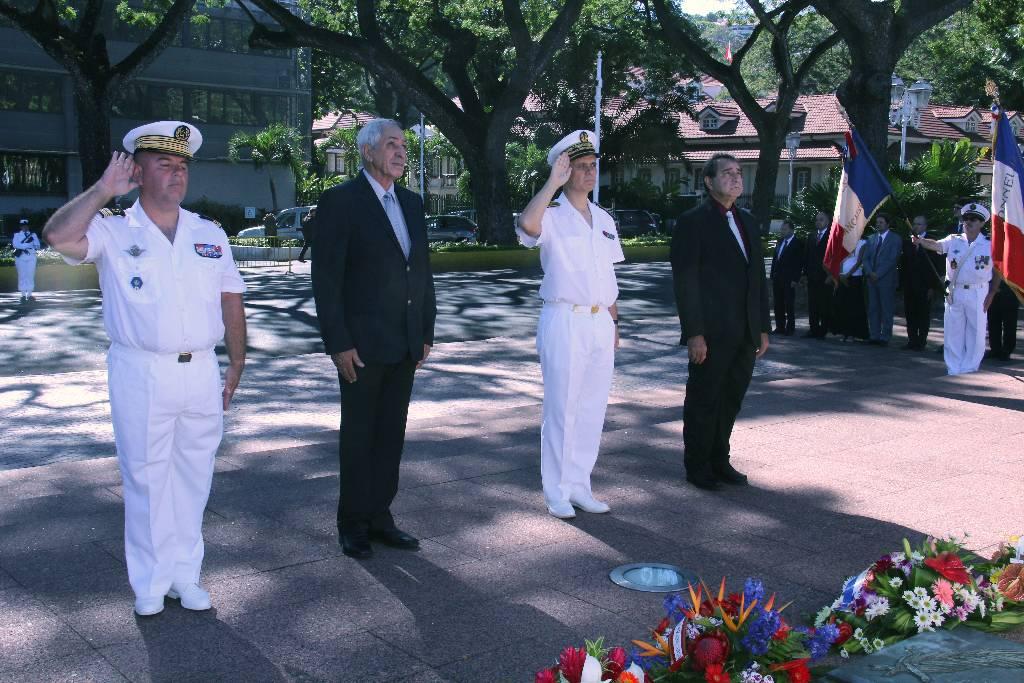 Papeete rend un hommage aux harkis