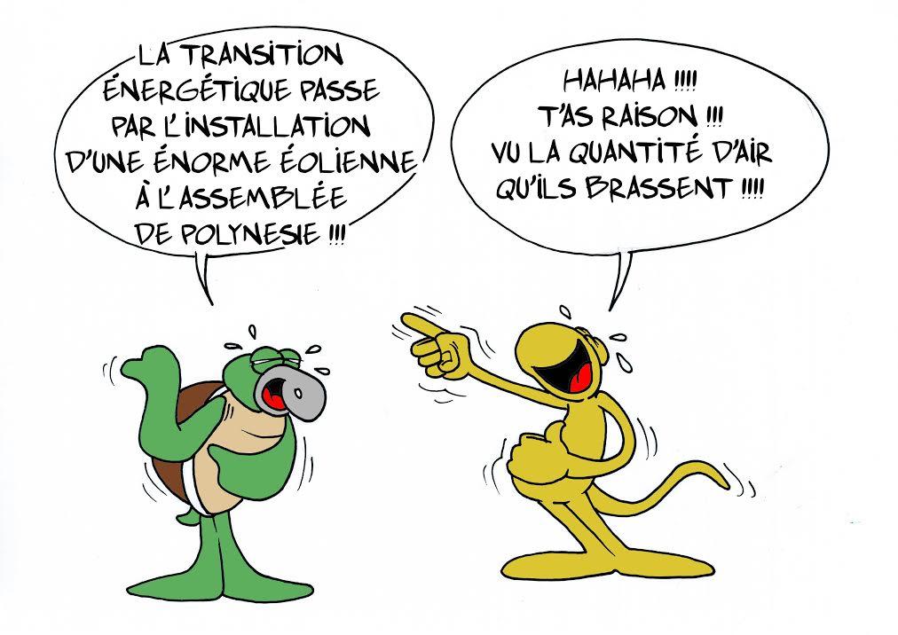 La transition energétique par Munoz
