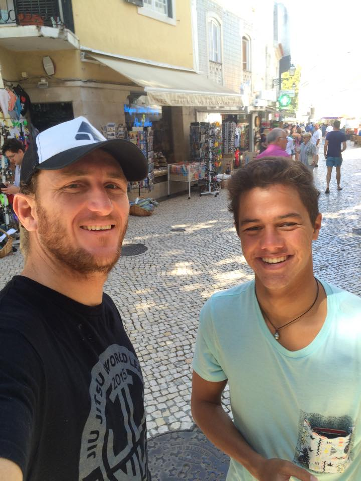 Steven et Mateia sont actuellement au Portugal