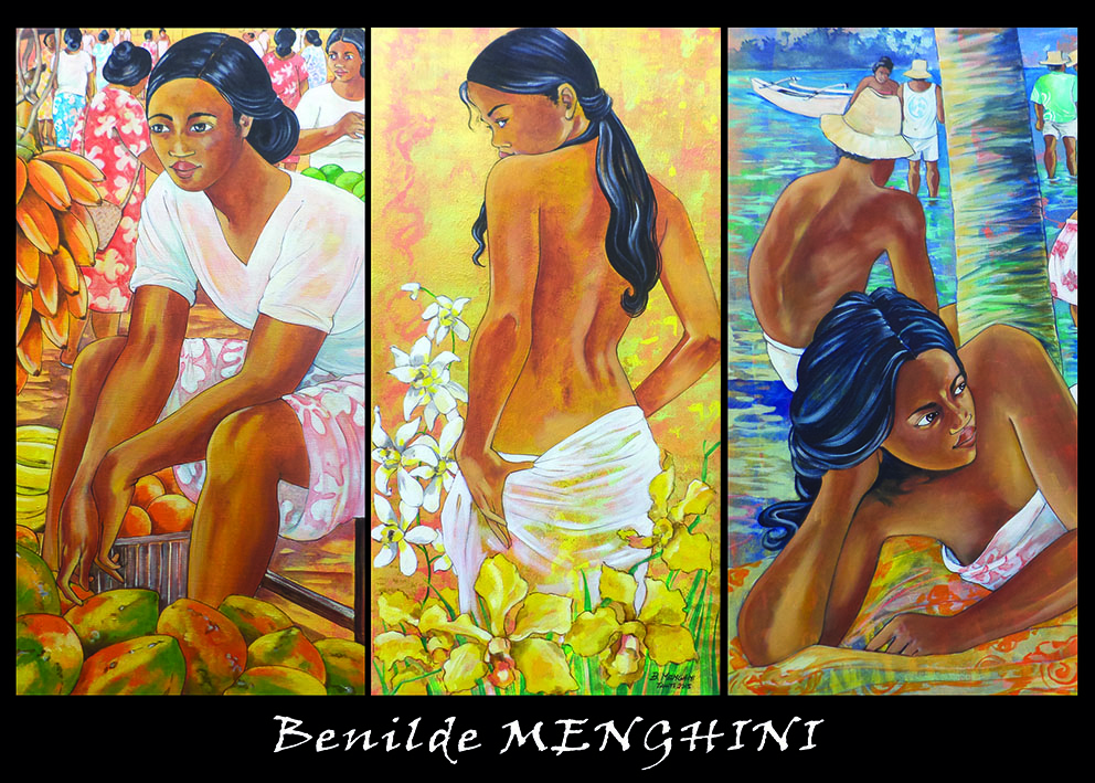 Vahine et volupté de Benilde Menghini