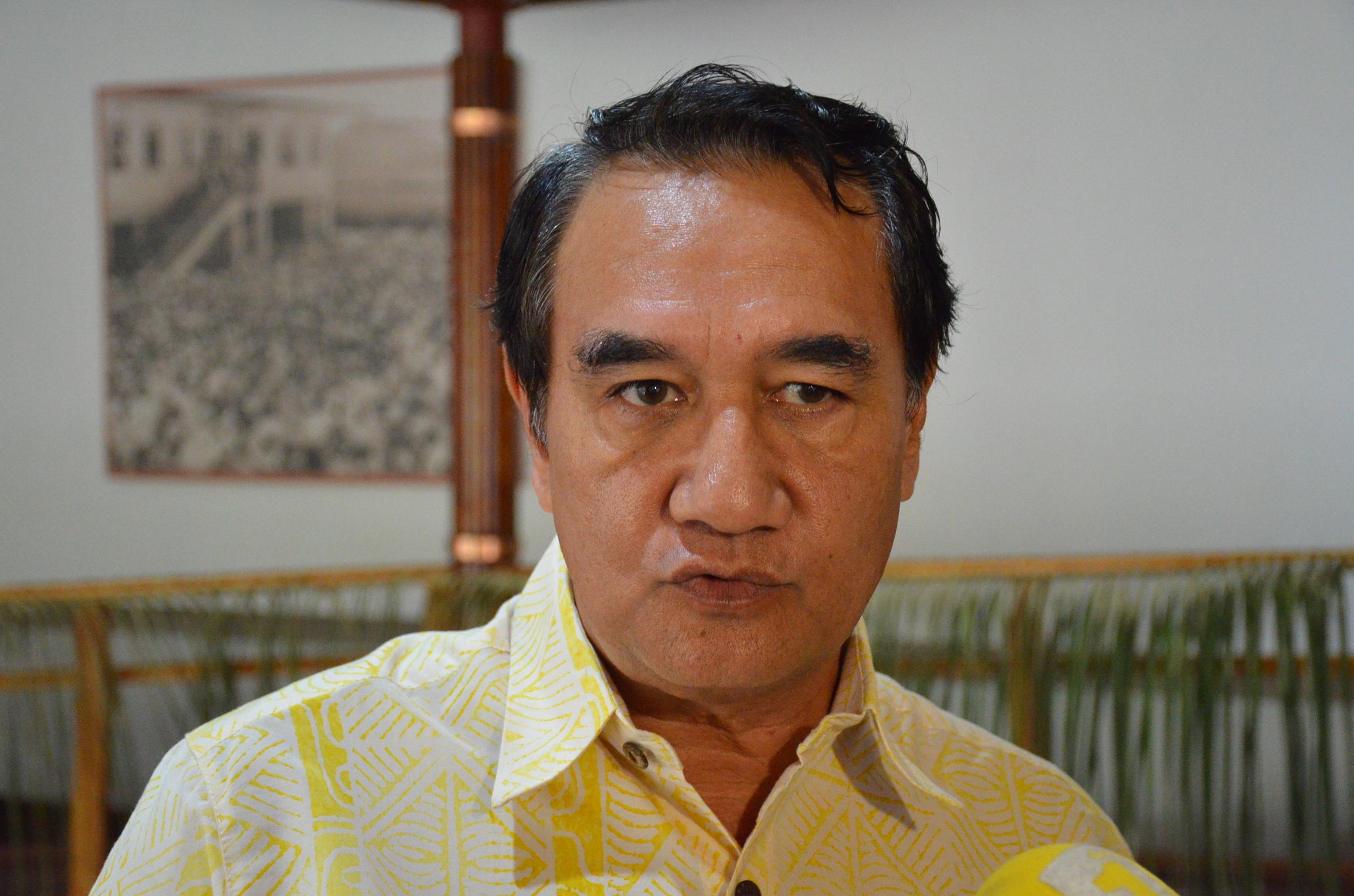 Antony Géros, président du groupe UPLD