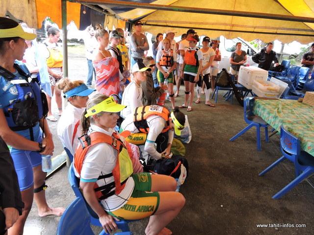 22 Pays participent à ces championnats du monde de kayak