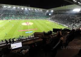 De l'huile de friture pour éclairer le stade de Saint-Etienne
