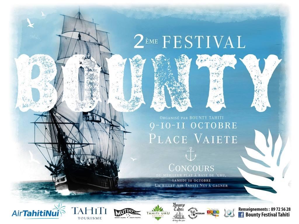 Deuxième Festival international de la Bounty : et vogue le capitaine William Bligh…