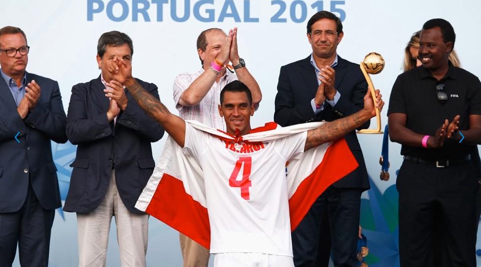 Heimanu Taiarui, le meilleur joueur de la coupe du monde 2015