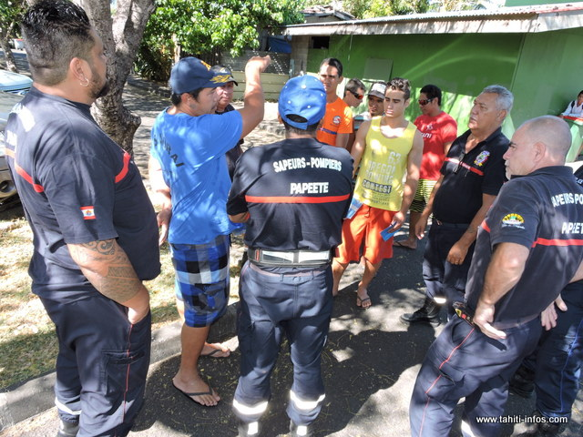 cyclone   sensibilisation dans les quartiers de taunoa
