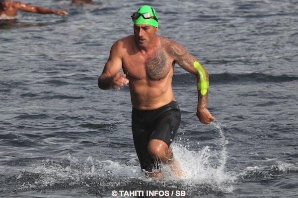 Teiki Conti, 48 ans, a terminé le Waterman Tahiti Tour 2015 à la 10e place, toutes catégories d'âge confondues