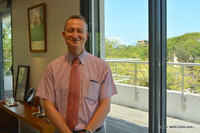 Marc Tschiggfrey a pris son poste de secrétaire général du Haut commissariat de Polynésie française depuis lundi.