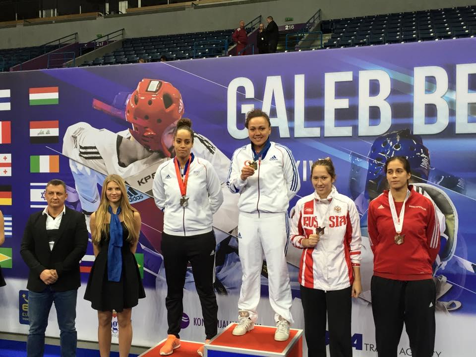 Taekwondo – Open de Serbie : Anne-Caroline Graffe remporte la médaille d'or.