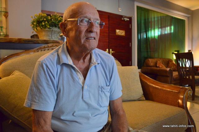 Jean-Louis Gregori, actionnaire majoritaire de la société par actions simplifiée South Pacific Golf and Resort Development (SPGRD), exploitante du golf de Moorea