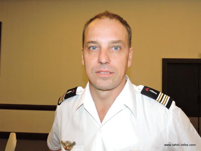 Frédéric Tournay, directeur de la défense et de la protection civile