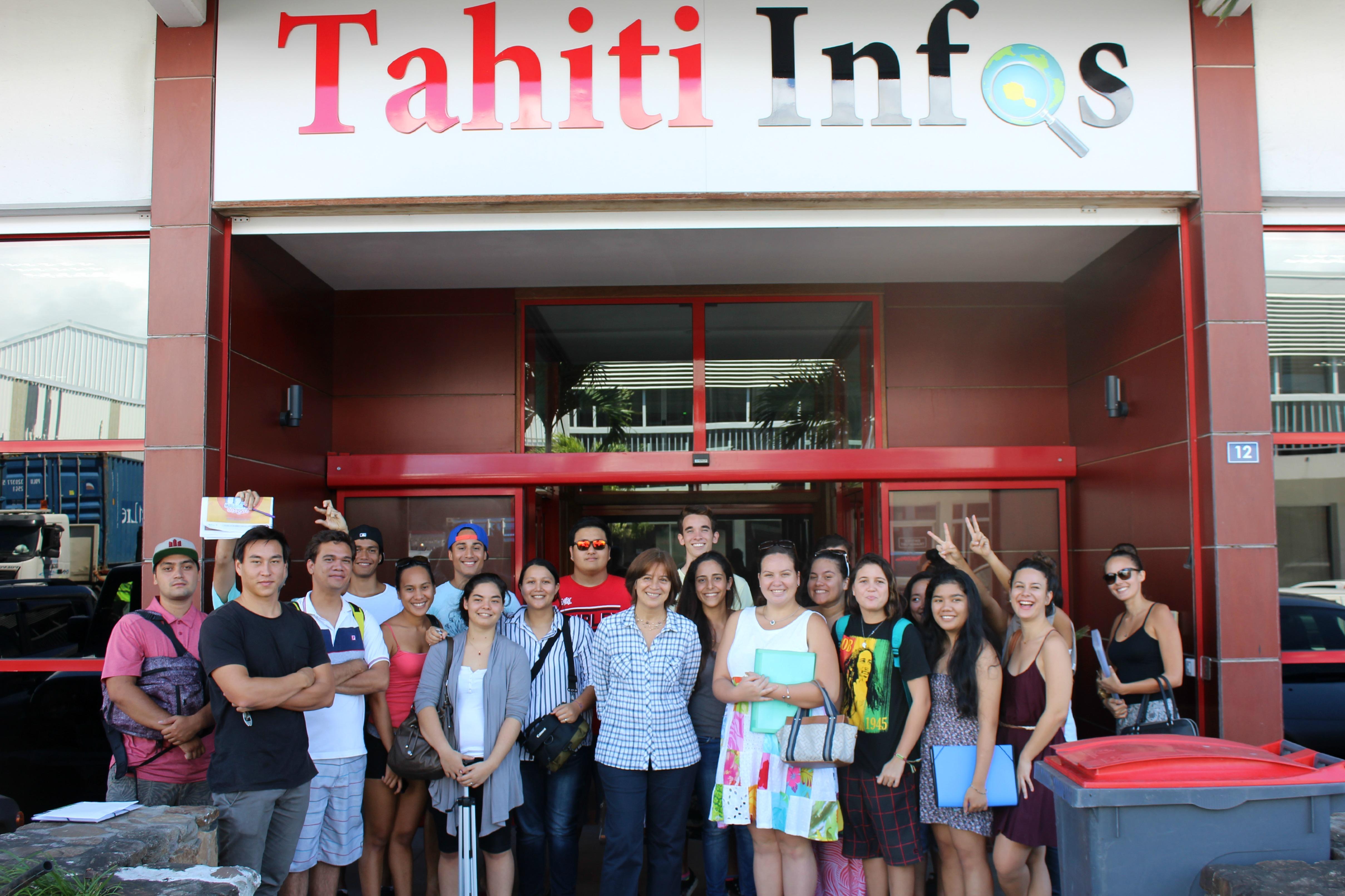 Génération Tahiti Infos… ou comment les étudiants de l'Isepp abordent leur journal