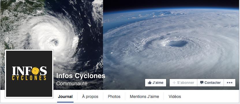 """Une communauté pour suivre les cyclones """"en live"""""""