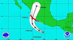 La tempête tropicale Patricia dans le Pacifique requalifiée d'ouragan