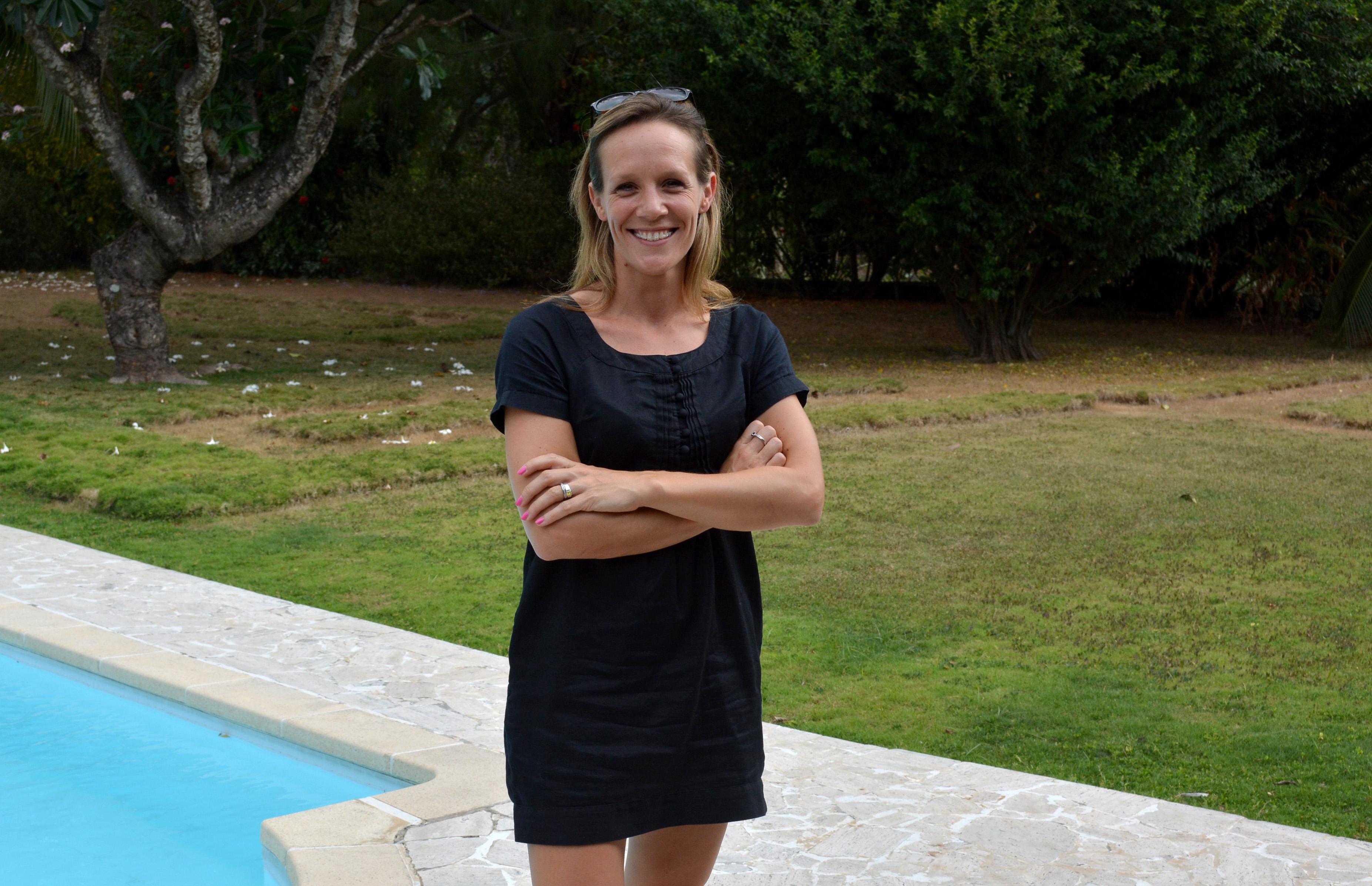 Emily Biotteau-Colas travaille dans la location saisonnière depuis 2011. Elle a lancé Tahiti Homes en 2013, qui est aujourd'hui le plus gros acteur du secteur avec 50 propriétés en gestion.