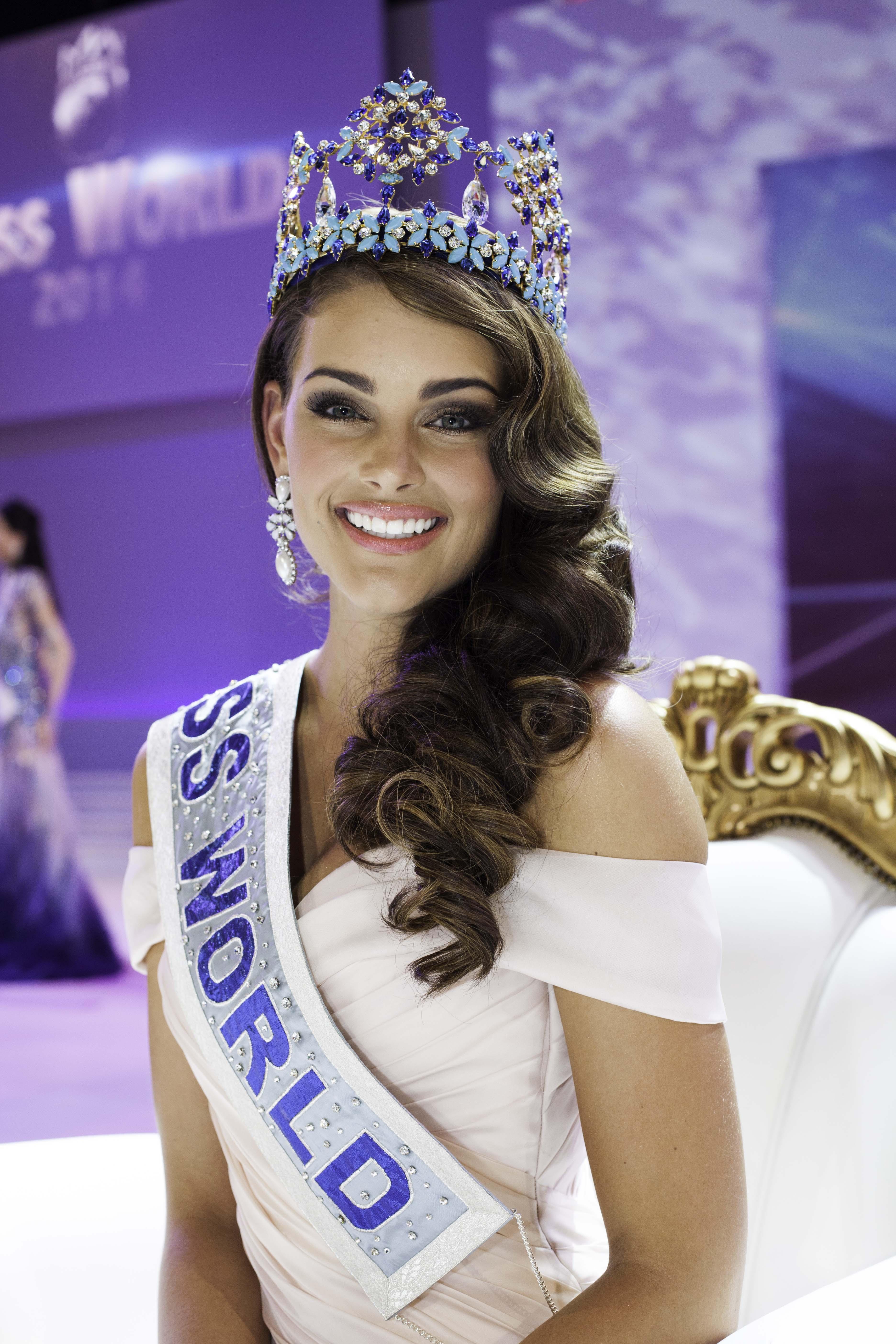 Rolene Strauss, Miss Afrique du Sud 2014, est l'actuelle Miss Monde. (Photo : DR)