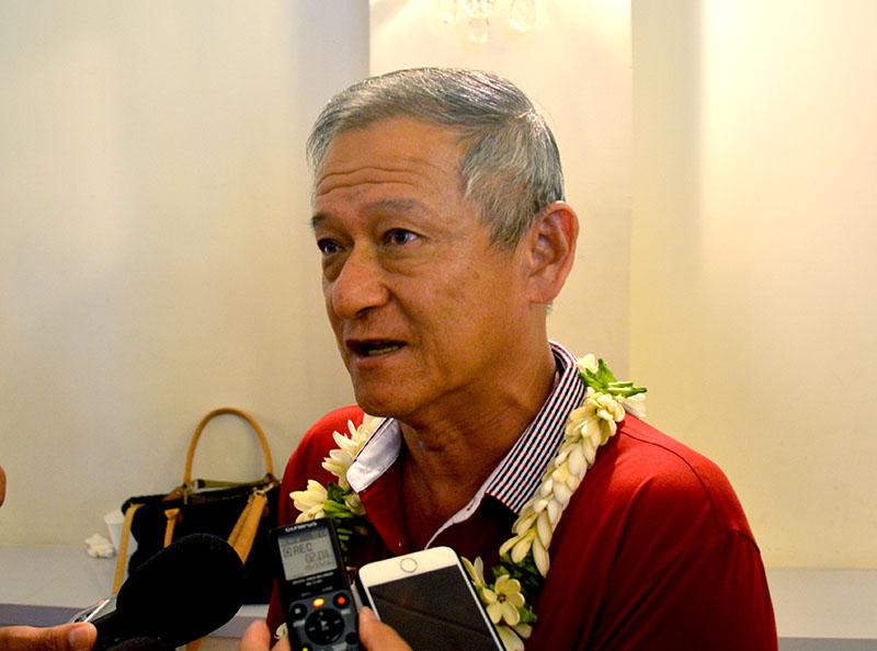 Charles Fong Loi a le feu vert pour rejoindre le groupe Tapura