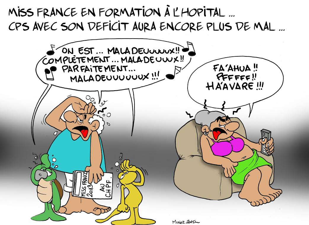 """Miss France 2013 au CHPF"" par Munoz"