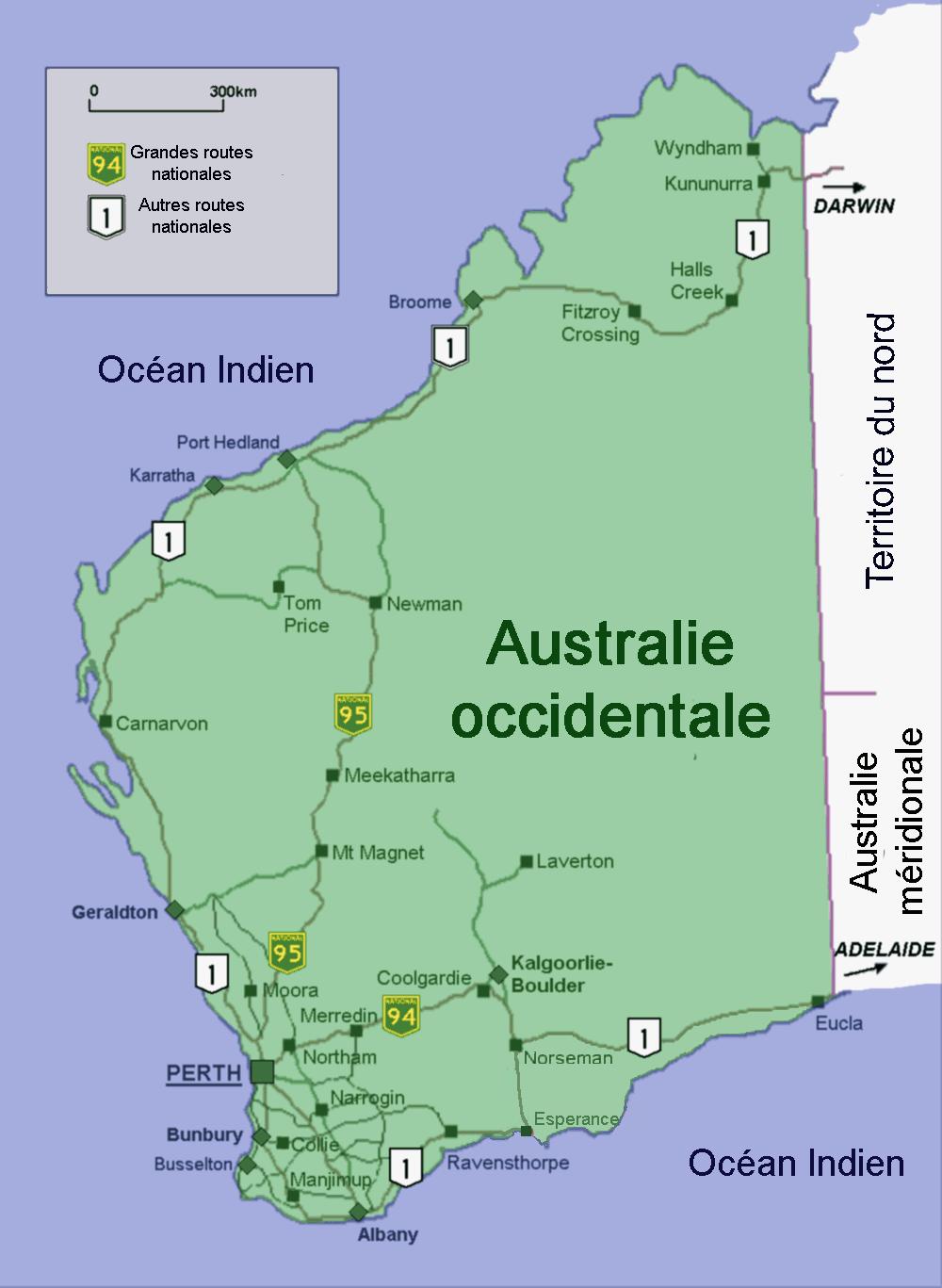 La côte ouest de l'Australie ; il est possible que Paulmier, en 1504, y ait séjourné un semestre entier, entre Broome et Albany.