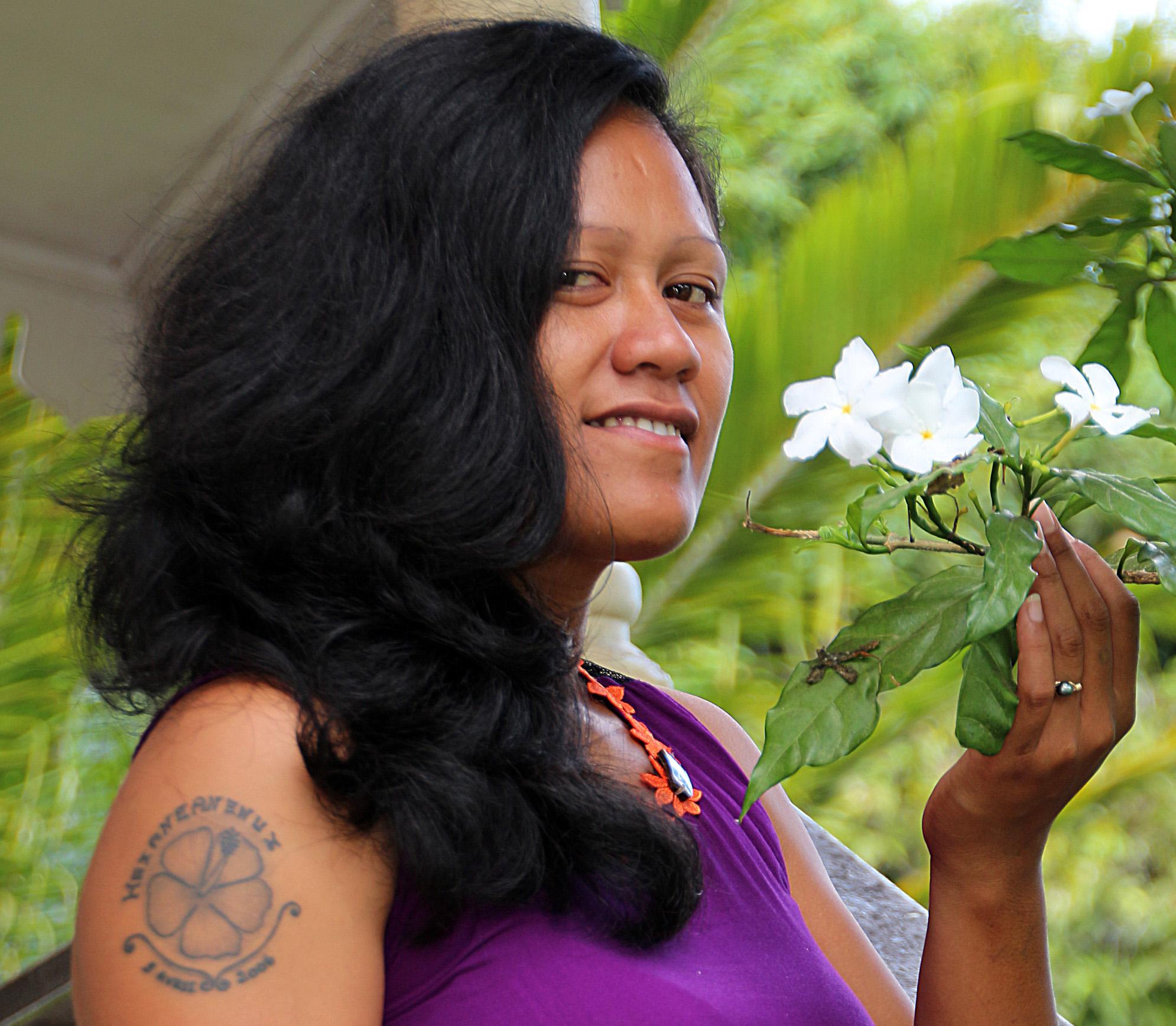 Tevahine Tefafano interprétera une chanson en tahitien dans son prochain single.