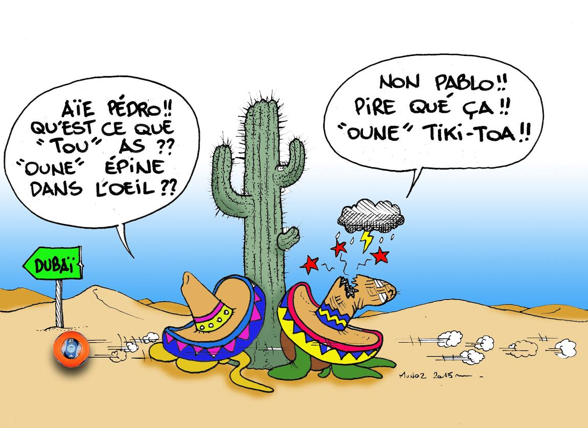 """""""Sauce piquante à la Tiki Toa"""" par Munoz"""